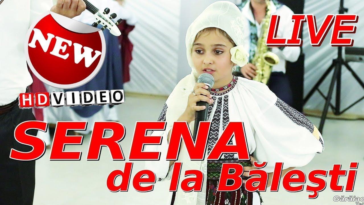 SERENA DE LA BALESTI - Colindai valceaua toata || + COLAJE MUZICA POPULARA || LIVE