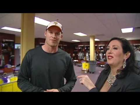 Minnesota Vikings Locker Room-Behind the Scenes with Melinda Jacobs Video