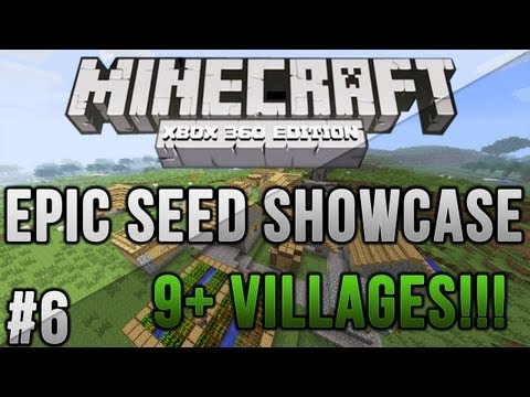 Minecraft Xbox 360/PS3: 10+ VILLAGES and 5 DIAMONDS   MCXBLA Seeds   Ep. 6