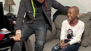 Tekashi 6ix9ine Surprises A Fan With Cancer
