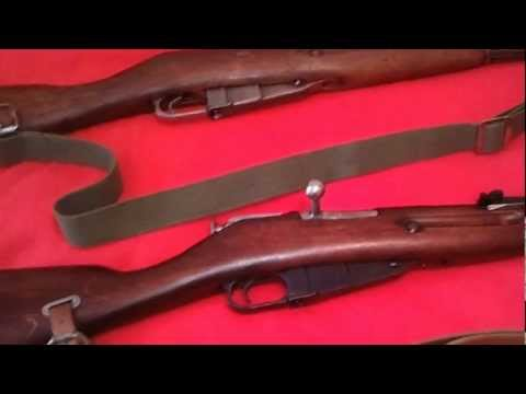 CHINESE TYPE 53 MOSIN NAGANT VS RUSSIAN M44 MOSIN 7.62X54R