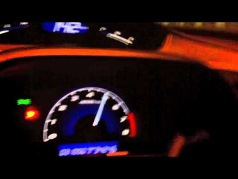 Turbo honda civic FD test run 3 80-200kph.m4v