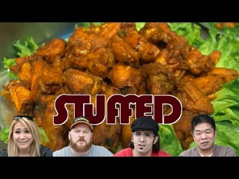 Fastest Way to Eat 50 Hot Wings! &#8211; STUFFED Ep. 3