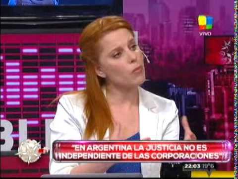Agustina Kämpfer y una fuerte discusión al aire con María Julia Oliván