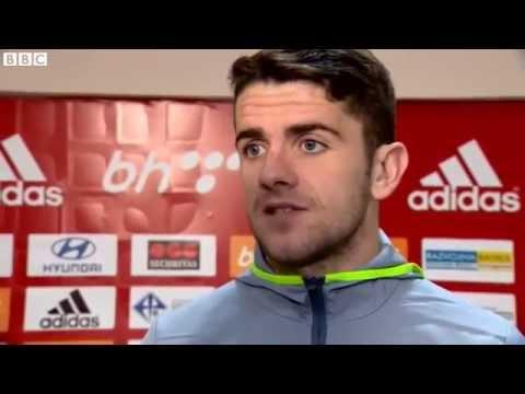 Bosnia and Herzegovina v Republic of Ireland - Post Match Interview - Robbie Brady (13/11/15)
