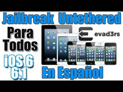 Jailbreak Untethered iOS 6, 6.1, 6.1.2 iPhone 5, 4s, 4, 3gs iPad, Mini iPod Touch 4g, 5g En Español