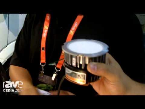 CEDIA 2014: Energy Squad Demos Profitable, Low Voltage DMF LED Light Luminaire