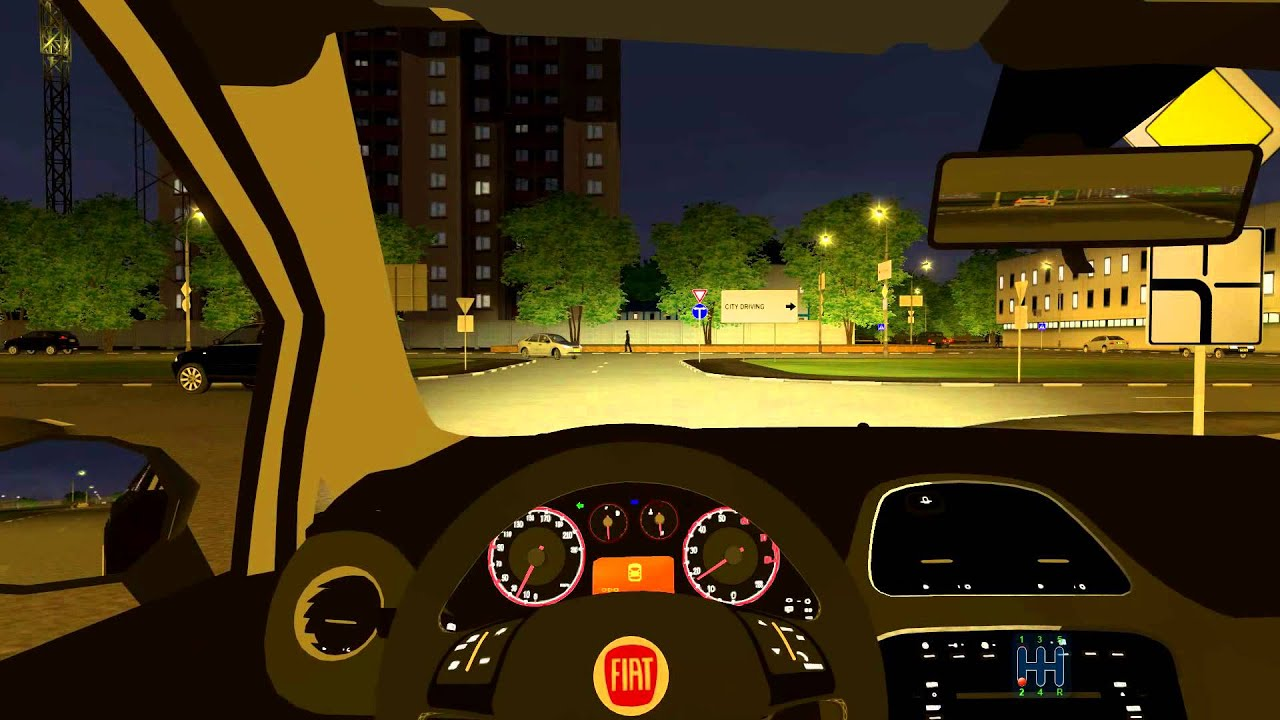 City car driving mods download