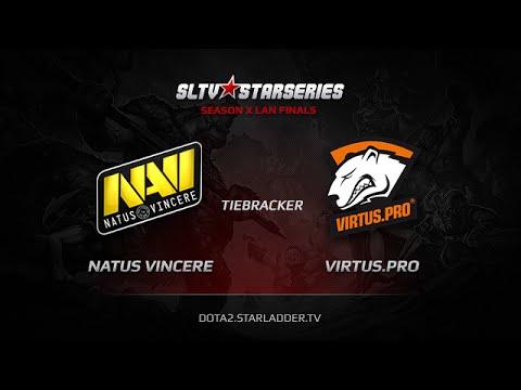 Na`Vi vs Virtus.pro, SLTV StarSeries X Finals, Day 2, Tiebreaker #1