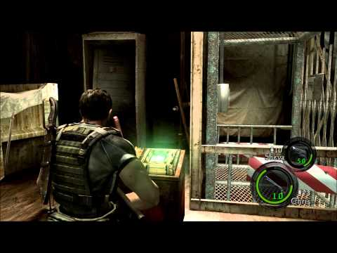 Megagames em Resident Evil 5 - parte 13 - Jill e o nariz de coxinha