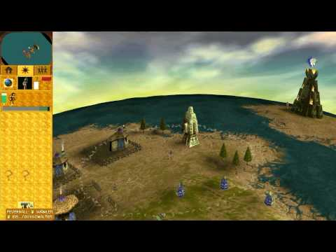 Let's Play Populous: The Beginning #001 [German] - Am Anfang war der Anfang