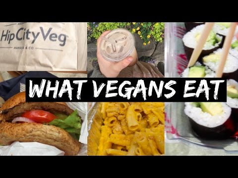 "What VEGANS eat in PHILADELPHIA (GLUTEN FREE, ""JUNK"" FOOD)"