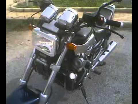 Yamaha FZX 750 sound