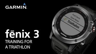 fenix 3: Training for a Triathlon