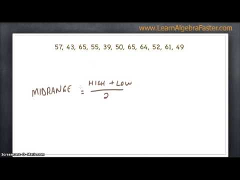 how to find the mode of numbers