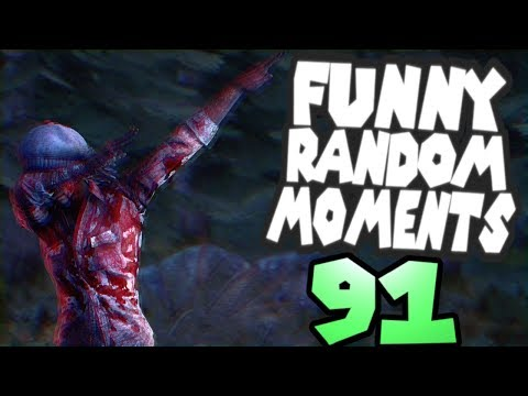 Dead by Daylight funny random moments montage 91
