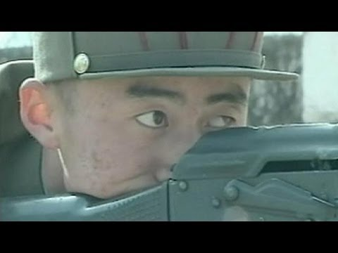 North Korean athletes training for combat - no comment