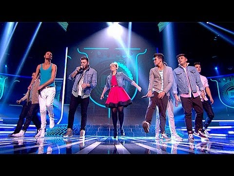 The Finalists sing Tulisa's Young - Live Week 7 - The X Factor UK 2012