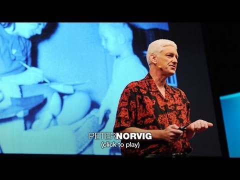 Peter Norvig: The 100,000-student Classroom