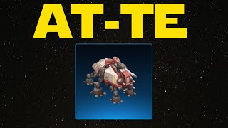 Star Wars Commander - AT-TE