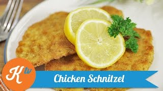 Resep Ayam Goreng Jerman  (Chicken Schnitzel Recipe) | THERESIA