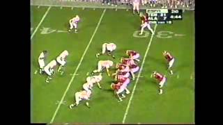 1995 #6 Tennessee vs. #11 Alabama Highlights