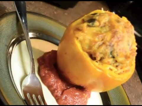 Easy and Delicious Vegetarian Stuffed Peppers