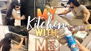 CLEAN WITH ME || KITCHEN || ODORKLENZ