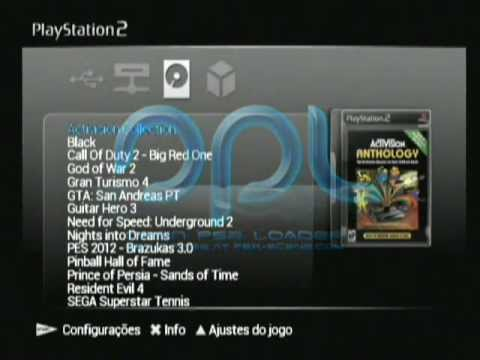 Open PS2 Loader 0.9 + FMCB on FAT PS2