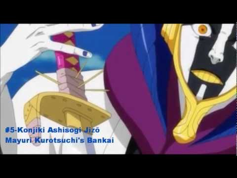 Top 10 Bleach Bankai 2012