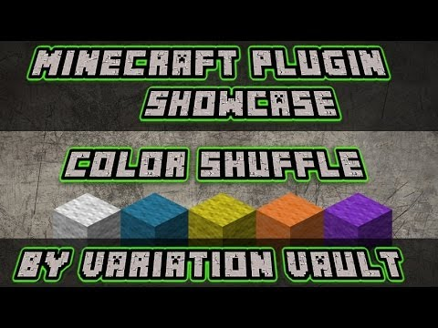 Minecraft Bukkit Plugin - Color Shuffle - Super fun minigame