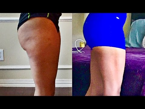WHAT 200 LUNGES A DAY DID TO MY LEGS AND BUTT!! BEFORE & AFTER PICTURES | LUNGE CHALLENGE