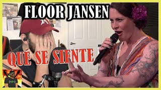 I Broke My Mic!! | Floor Jansen - Qué Se Siente | Beste Zangers 2019 | REACTION