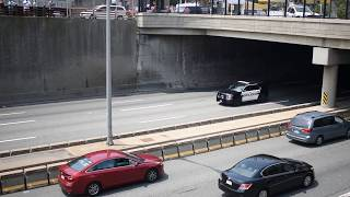 Procession for Weymouth Police Officer Michael Chesna
