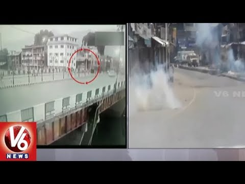Militants Attack CRPF Vehicle In Jammu Kashmir's Pulwama | V6 News