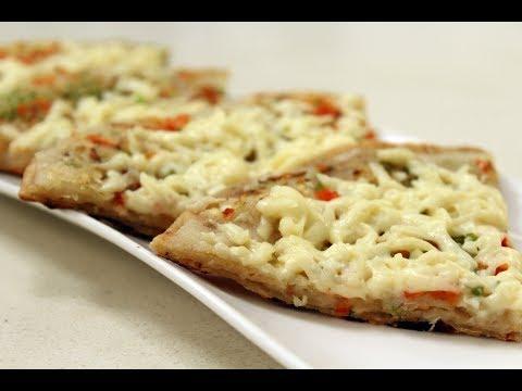 Roti Pizza   Sanjeev Kapoor Khazana
