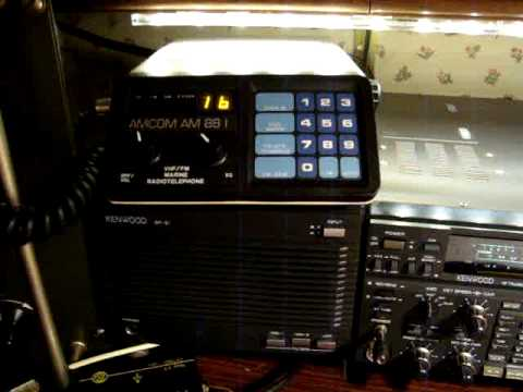 AMCOM AM 88 I VHF MARINE RADIO CH 16