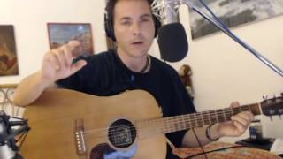 Vasco Rossi Sally how to play chords tutorial guitar consigli intro Luca Freddi
