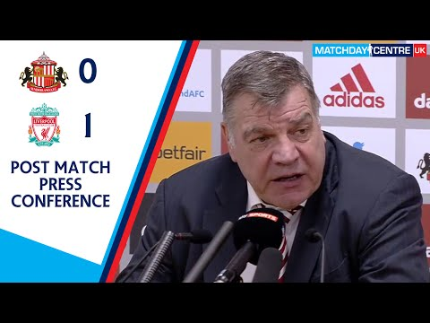 Sunderland 0-1 Liverpool : Sam Allardyce Post Match Press Conference