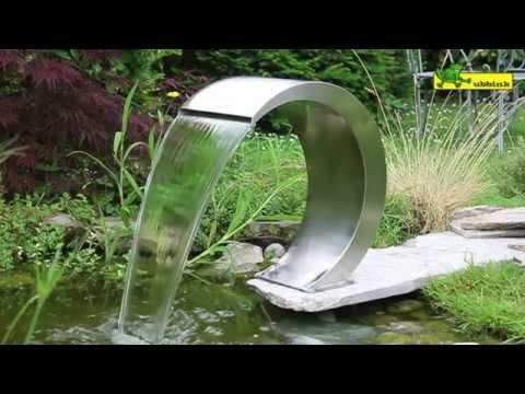 installer une fontaine jaillissante au jardin videolike. Black Bedroom Furniture Sets. Home Design Ideas