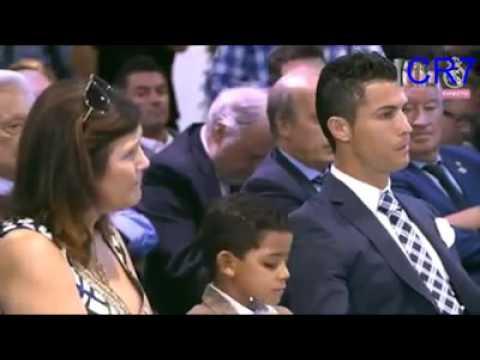 Homenagem do Real Madrid: a Cristiano Ronaldo
