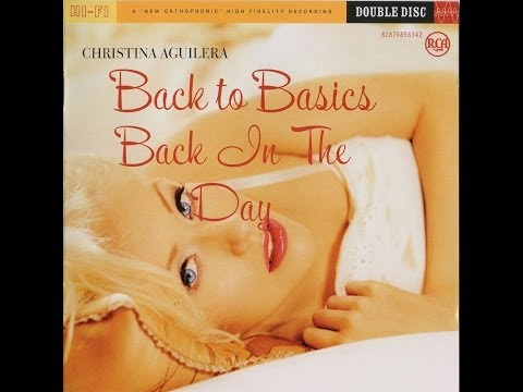 Christina Aguilera - Back In The Day