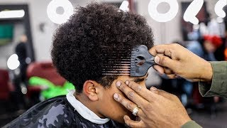 THE PERFECT AFRO TAPER TUTORIAL