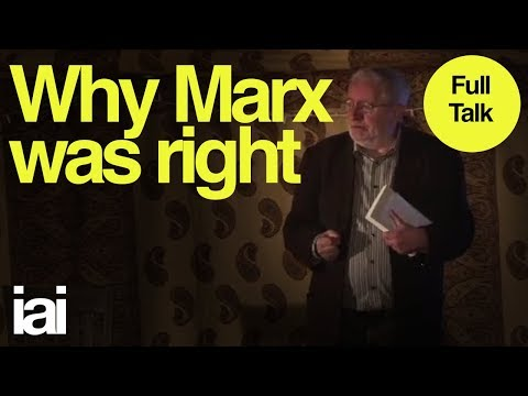 Why Marx Was Right: Terry Eagleton Marxist Critic & Political Philosopher