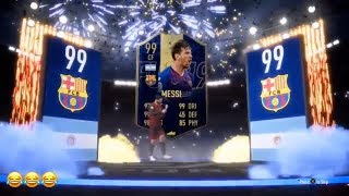 This Is The Greatest & Luckiest Pack In History! TOTY Pack! Fifa 19 Ultimate Team