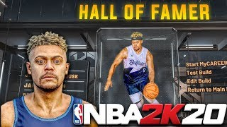 Creating ZackTTG Build in NBA 2K20!! BEST GUARD BUILD! MyCareer EP 1