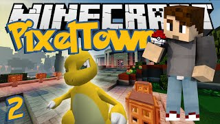 Minecraft: PixelTown Ep. 2 - BIG BOOTY CHARMELEON! (Minecraft Pixelmon Mod)