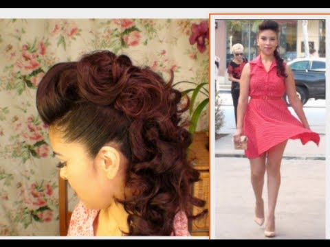 Faux Hawk Hair Tutorial HOMECOMING HAIR IDEA