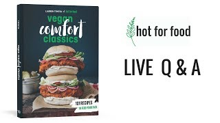 LIVE Q&A (COOKBOOK NEWS!!) | hot for food