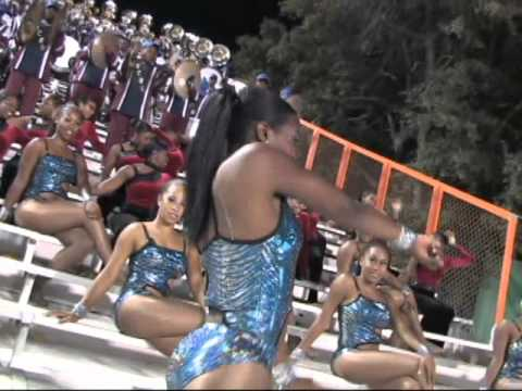 South Carolina State University Marching 101 Champagne Dancers